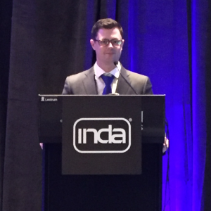 Speaking at INDA