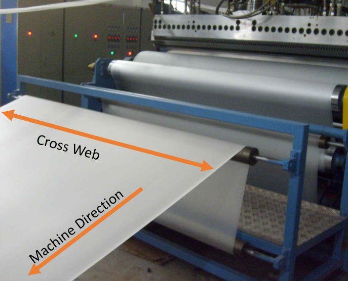 Cross Web vx Machine Direction 2